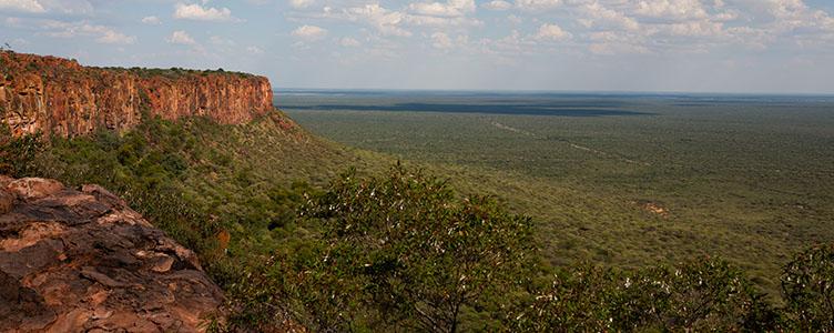 Plateau du Waterberg en Namibie