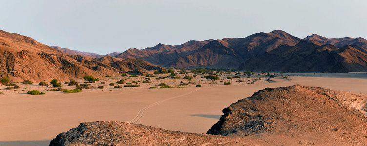 Kaokoland en Namibie