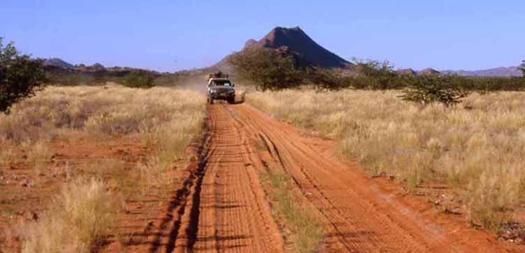 Expedition Afrique 4x4 Kaokoland