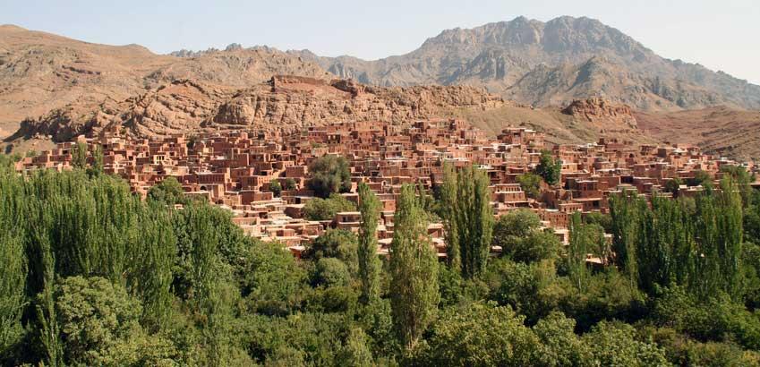 Abyaneh en Iran circuit Samsara
