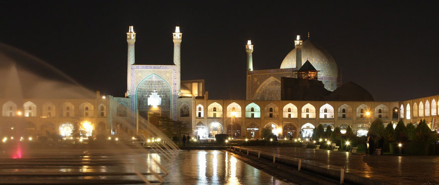 La place Imam à Ispahan Circuit Samsara