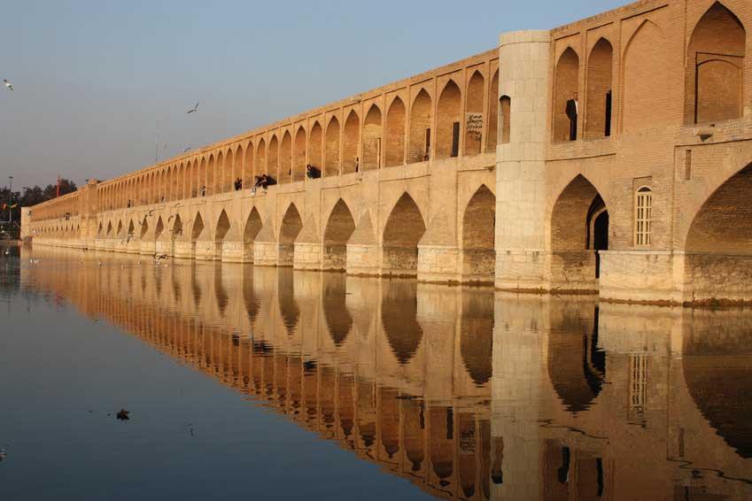 Pont Khajou à Ispahan Samsara Voyages
