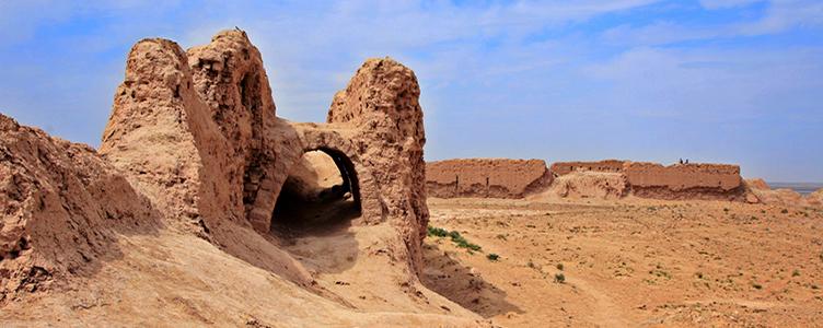 Circuit en Ouzbekistan Aya Qala