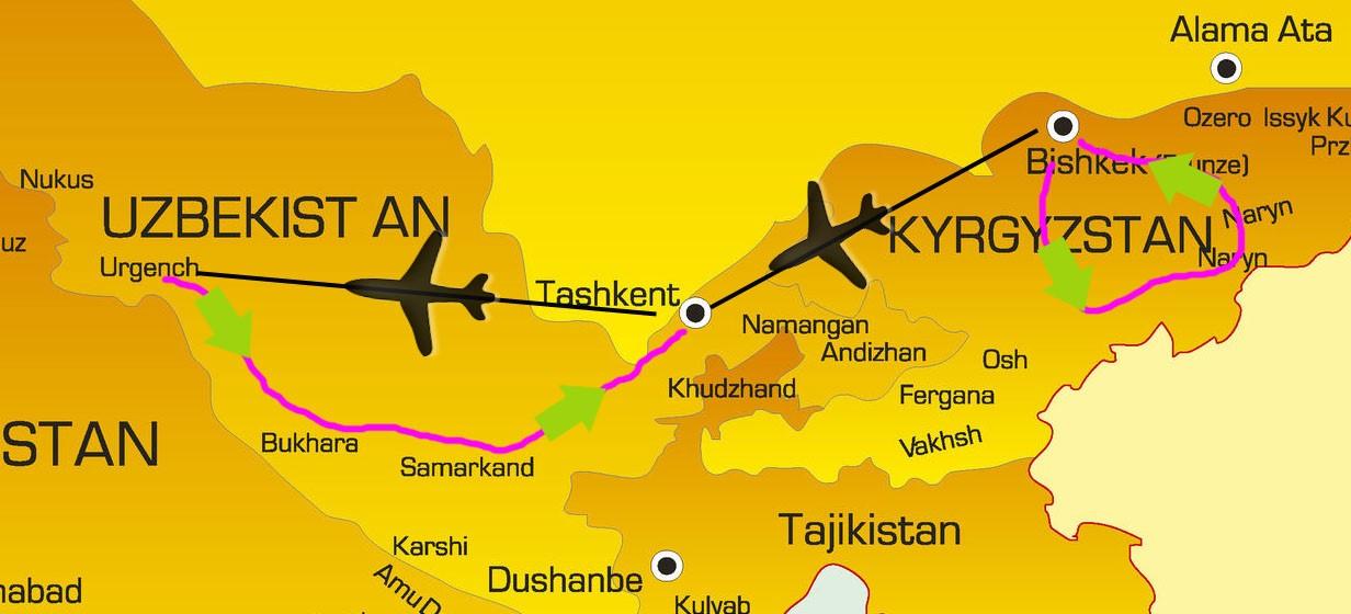 Voyage Kirghizie Ouzbekistan Samsara