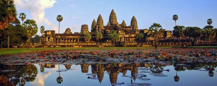 La cité d'Angkor à Siem reap au Cambodge samsara voyages