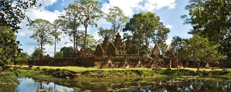 Banteai Srei au Cambodge voyage Samsara