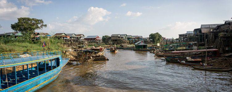 Kompong Khleang au Cambodge