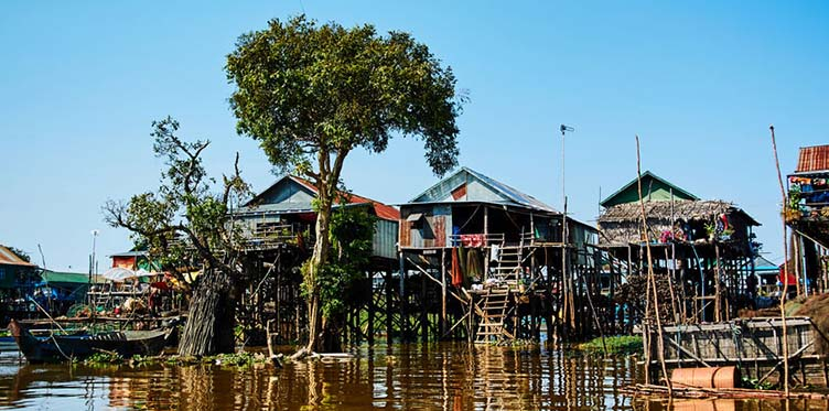 Le Lac Tonle Sap au Cambodge circuit samsara