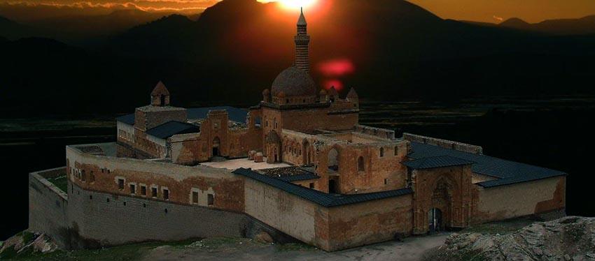 Ishak pasa sarayi en Turquie