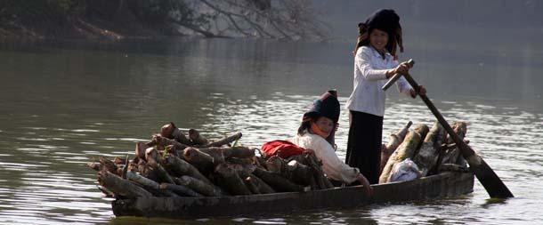 Voyage en Indochine rivière noire vietnam