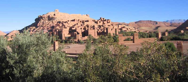 Maroc kasbah Samsara Voyages