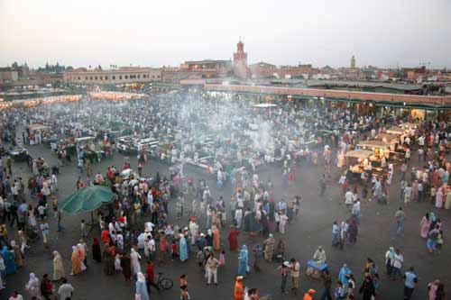 Marrakech Dejma el fnaa Samsara Voyages
