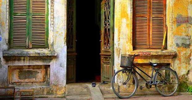 Quartier colonial à Hanoi au Vietnam Samsara