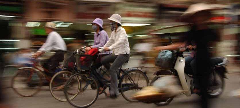 Velo à Hanoi voyage Vietnam