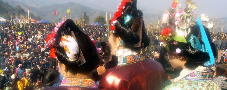 La ceremonie des Femmes Miao Samsara Voyages
