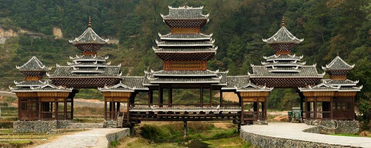 Le Pont Zhaoxing en Chine circuit Samsara