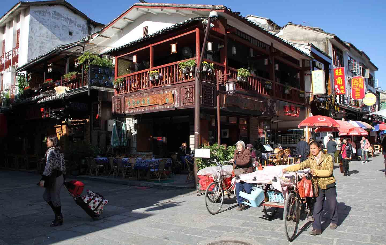 Village de Chine Guilin lors d'un voyage avec Samsara