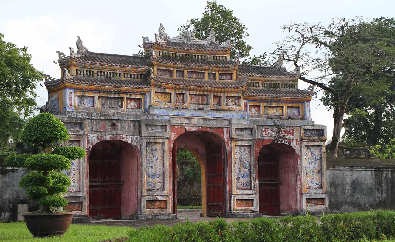 En voyage à la citadelle de Hue au Vietnam