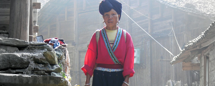 Femme yao en Chine Samsara Voyages