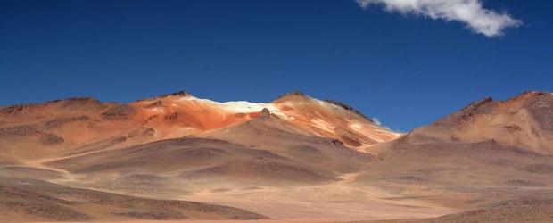 Circuit Bolivie désert Siloli