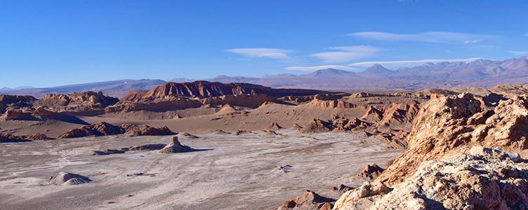 Paysages désert San Pedro circuit Atacama