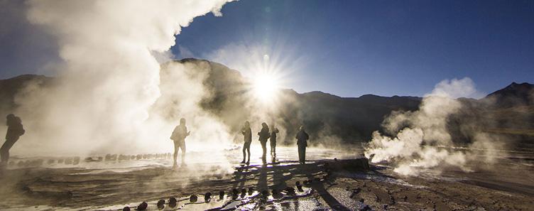 Voyage Amerique latine Atacama geyser Tatio