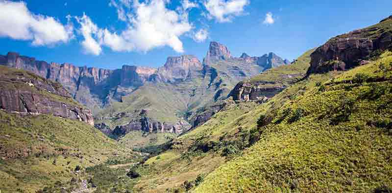 Paysage du Drakensberg