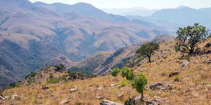 Randonnée dans le parc de Malolotja au Swaziland