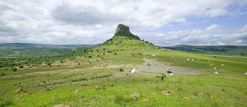 Champs de Sandlwana au Zululand