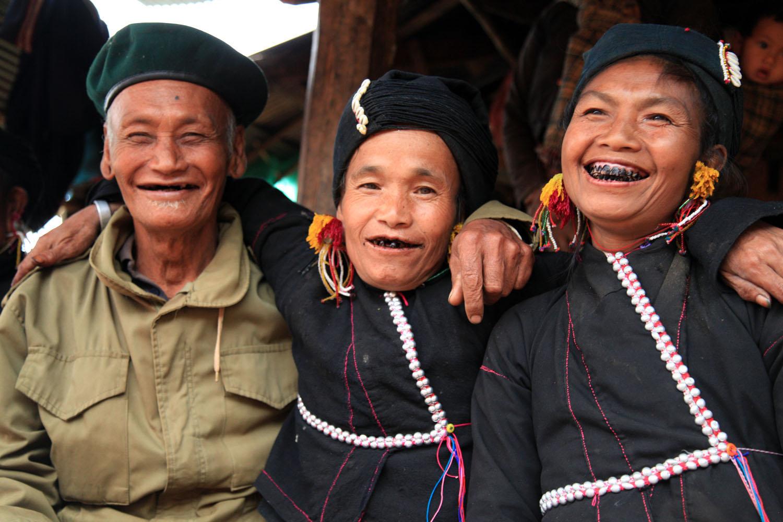 En allant à Kentung au Myanmar lors d'un circuit Samsara