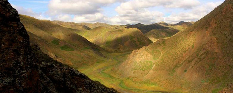 Canyons Dungenee Mongolie grands espaces