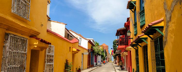 Cartagène ruelles colorées Samsara Voyages Colombie