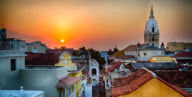 Colombie Cartagène Samsara Voyages coucher de soleil