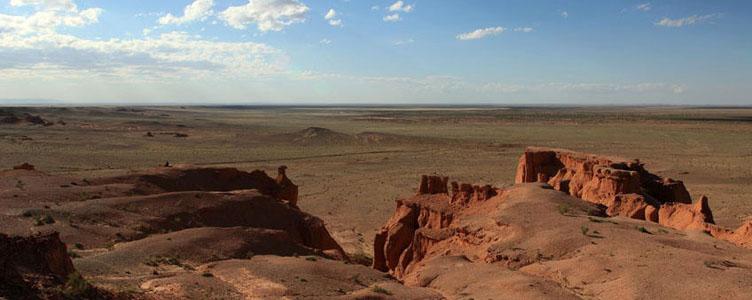 Découverte Bayanzag canyon Mongolie