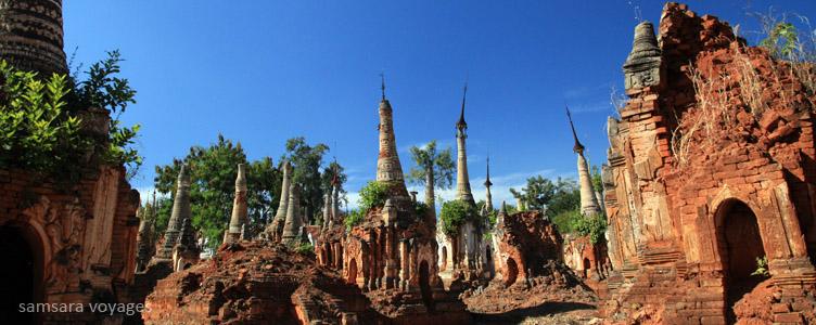 Indein circuit Birmanie temple traditionnel
