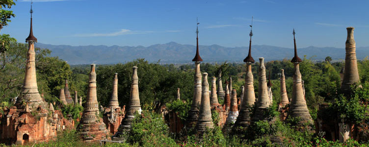 Indein Myanmar Birmanie temple Samsara Voyages