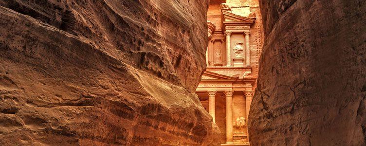 Petra Siq Voyage Jordanie