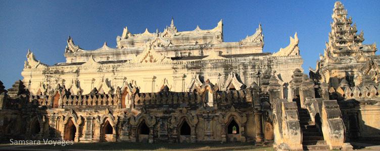 Temple Birmanie Ava Samsara Voyages
