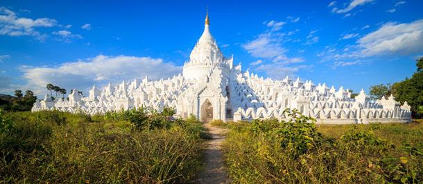 Temple Mingun Birmanie Samsara Voyages