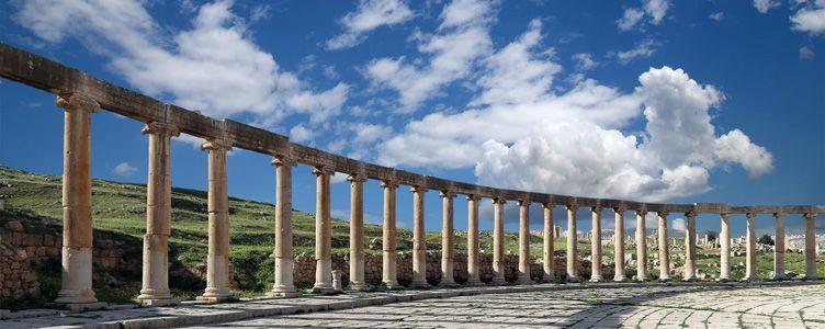 Voyage Jordanie Jerash Samsara