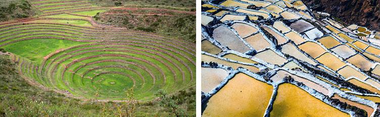 Voyage Pérou paysages Moray