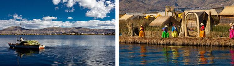 Voyage Pérou rives du Lac Titicaca tribu