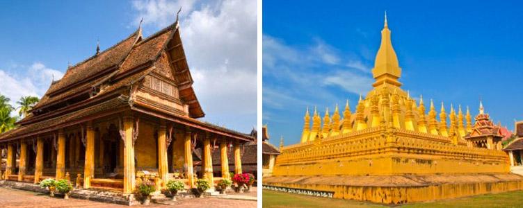 Voyage Vientiane temple Samsara