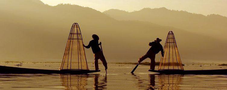 Voyage insolite Birmanie lac Inle Samsara pêcheurs