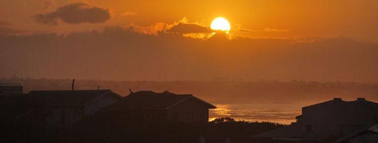 Hermanus voyage coucher de soleil