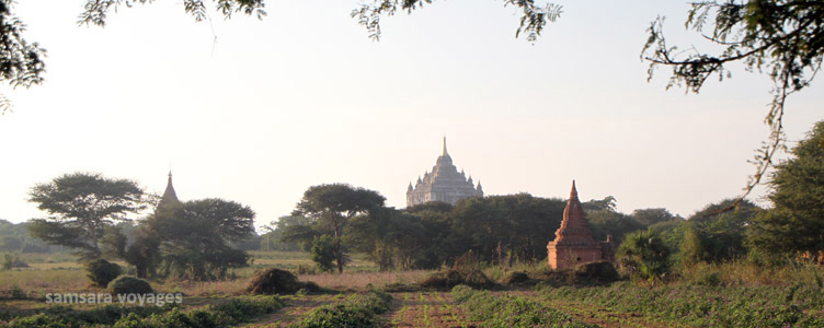 Voyage Bagan Myingyan Myanmar Birmanie Samsara