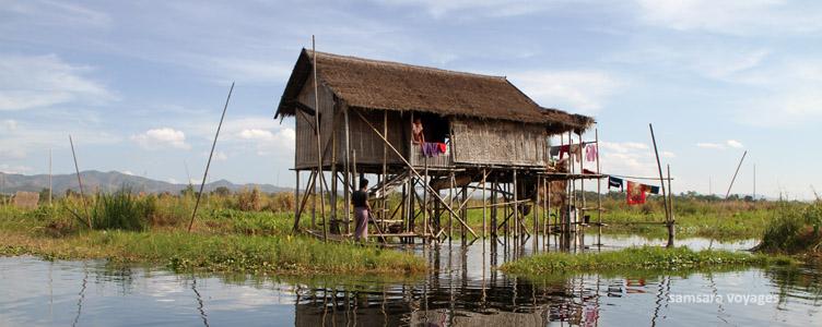 Voyage lac Inle Myanmar Samsara