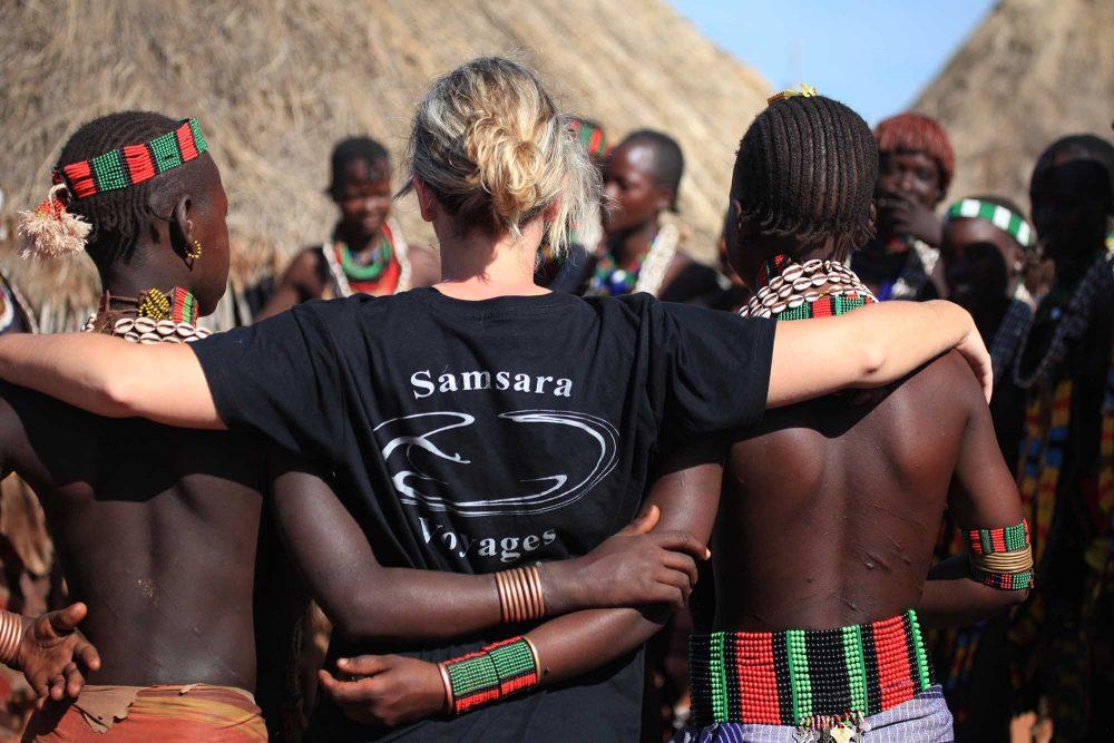 Dans la vallée de l'Omo en Ethiopie