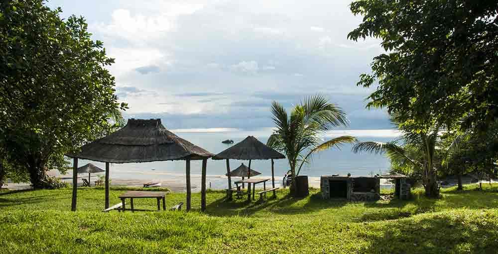 Paysage sur le lac Malawi