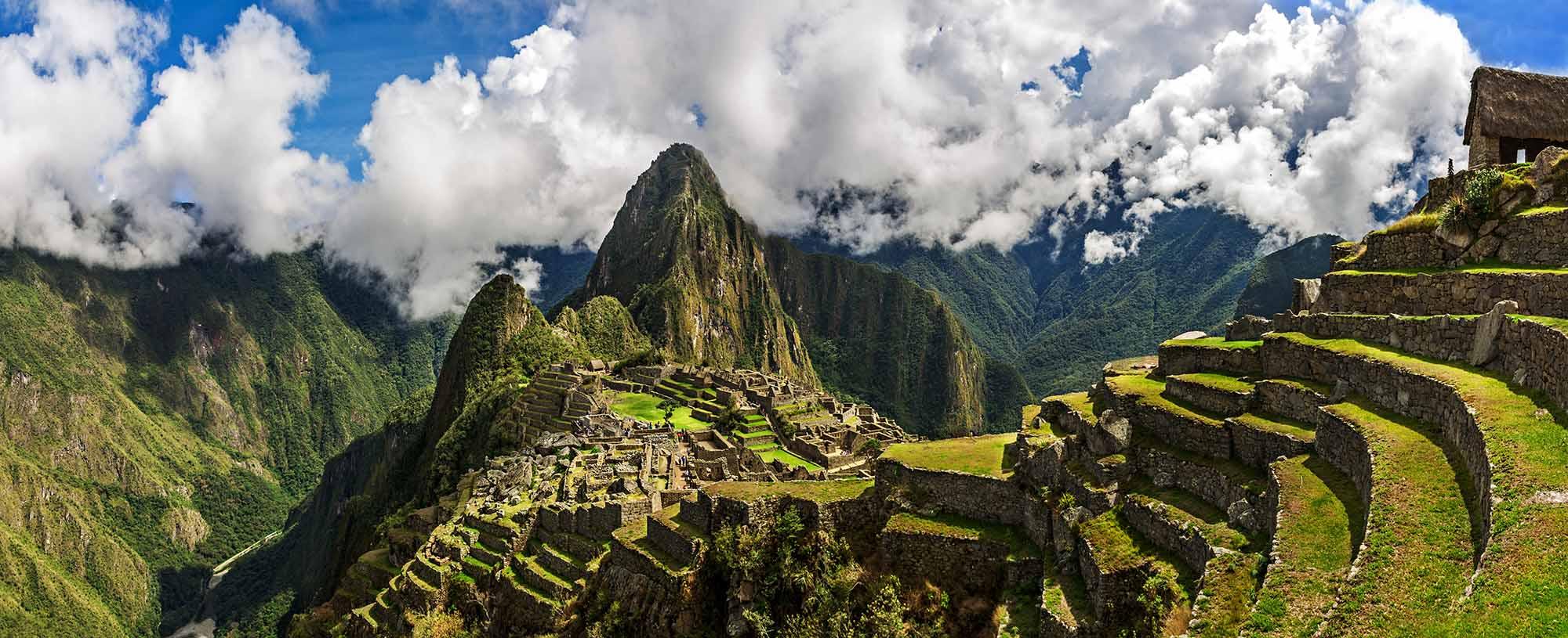 Le Matchu Pitchu lors d'un voyage au Pérou avec Samsara